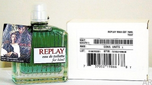 Replay Men EDT  75ml Tester