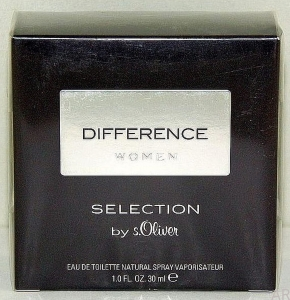 s.Oliver Selection Difference Woman EDT 30ml UNIKAT z Niemiec
