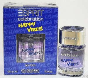 Esprit Celebration Happy Vibes Men EDT 30ml Unikat z Niemiec